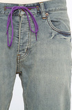Джинсы на шнурке мужские фото 6