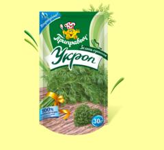 УКРОП ЗЕЛЕНЬ СУШЁНАЯ 30 г