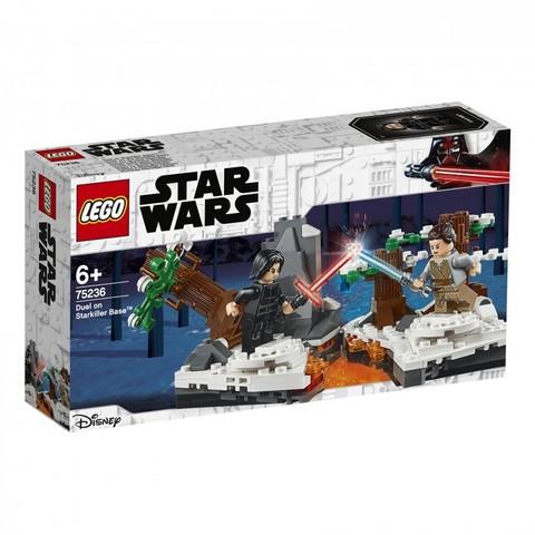 LEGO Star Wars: Старкиллер 75236 — Duel on Starkiller Base — Лего Звездные войны Стар Ворз