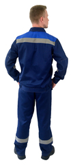 Костюм Легион куртка, брюки темно-синий с васильком