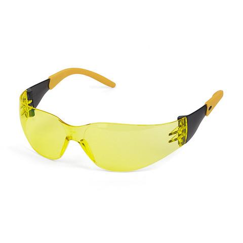 Очки защитные открытые универсальные Ампаро Фокус желтые (210322)
