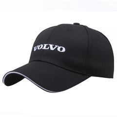 Модная бейсболка с вышивкой Вольво (Кепка Volvo) черная