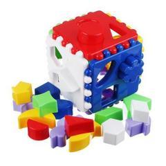 РЫЖИЙ КОТ Логический куб, большой