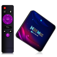 Смарт ТВ приставка H96 Max V11 RK3318 4К ULTRA HD TV BOX 4/32 Гб Андроид 11.0
