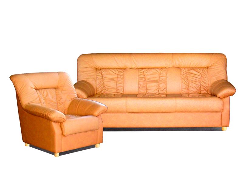 диван 3-местный + кресло Сиеста