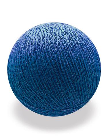 Хлопковый шарик темно-синий