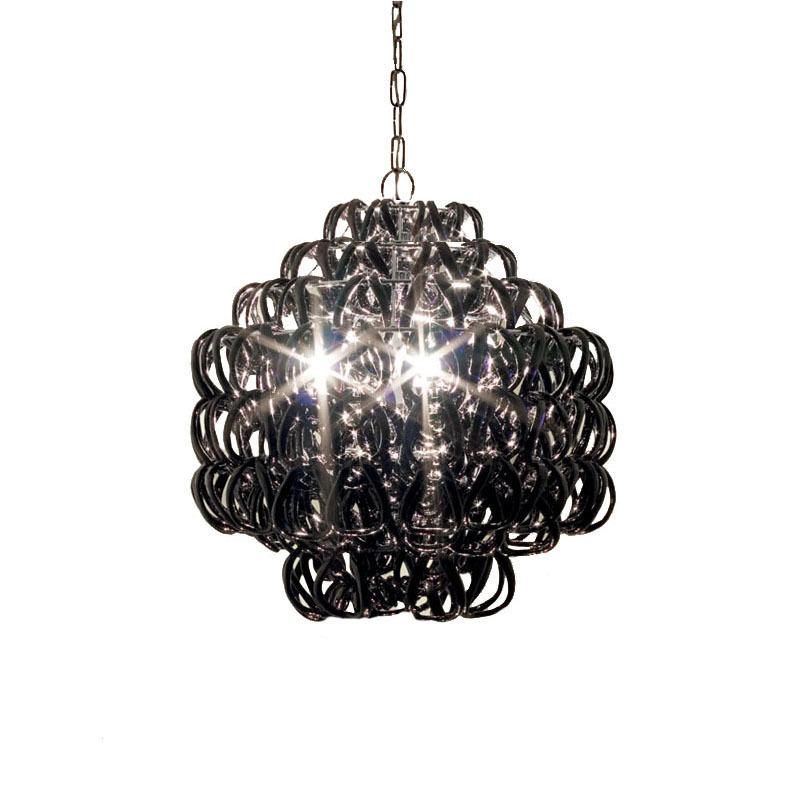 Подвесной светильник Giogali SP 3E by Vistosi (черный)