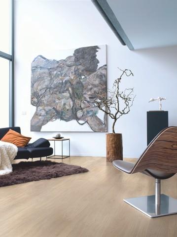 Light grey varnished Oak planks | Ламинат QUICK-STEP EL1304