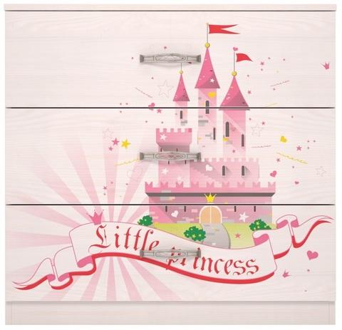 Комод Принцесса 3 Ижмебель лиственница сибио