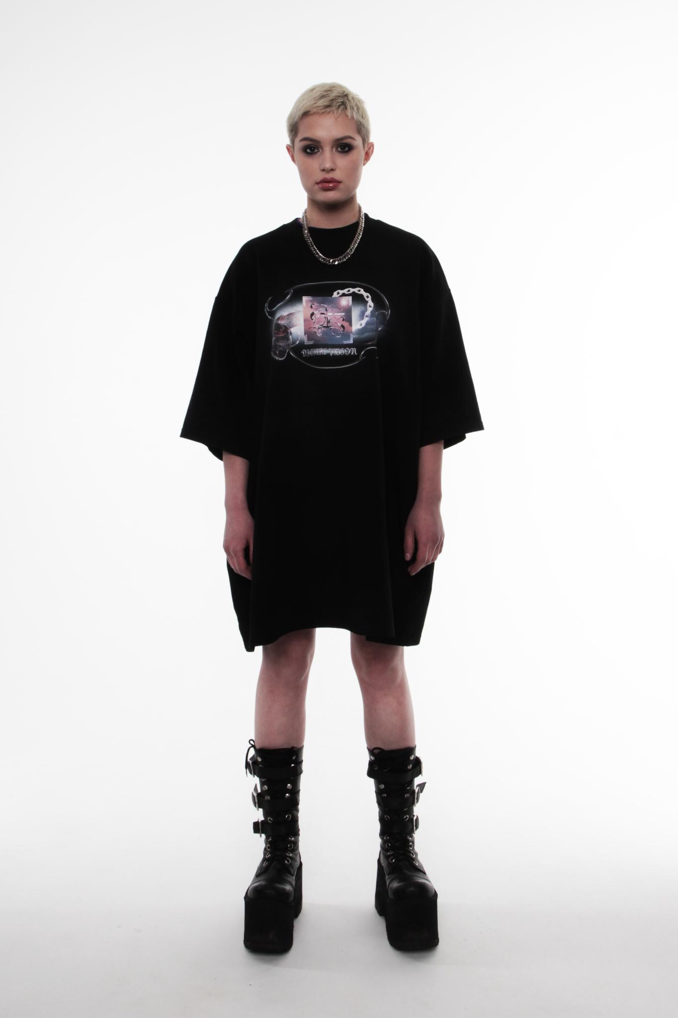 616 x COUNTRE DIGITAL PRISON Платье с дополненной реальностью