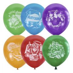 Латексный воздушный шар Выпускник