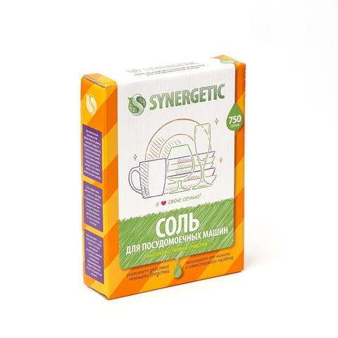 Соль для посудомоечных машин Synergetic 750г