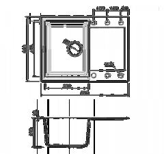 Схема Omoikiri Sakaime 68-CH