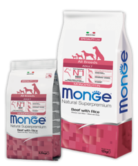 Monge Speciality Line All Breeds Adult Dog Monoprotein Beef&Rice