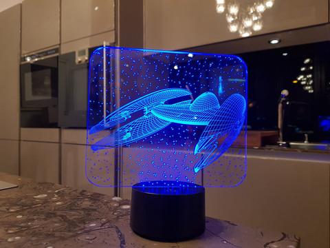 Ночник Космический корабль