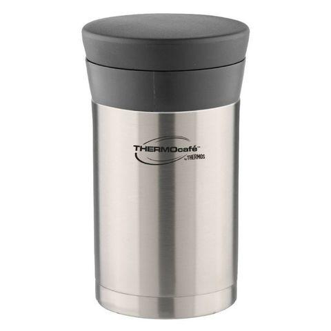 Термос Thermos ThermoCafe DFJ-500 food flask (868169) 0.5л. стальной/черный