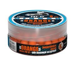 Бойлы насад. плав. Sonik Baits ORANGE-TANGERINE Oil MICRON Fluo Pop-ups 8мм 50мл