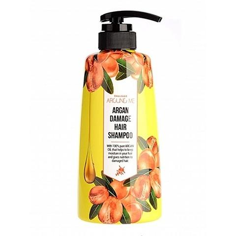 Welcos Around Me Argan Hair Shampoo шампунь для поврежденных волос