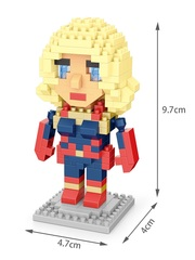 Конструктор Wisehawk & LNO Капитан Марвел 265 деталей NO. 2559 Captain Marvel Gift Series
