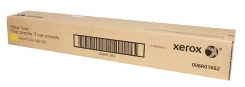 Оригинальный лазерный картридж Xerox 006R01662 желтый