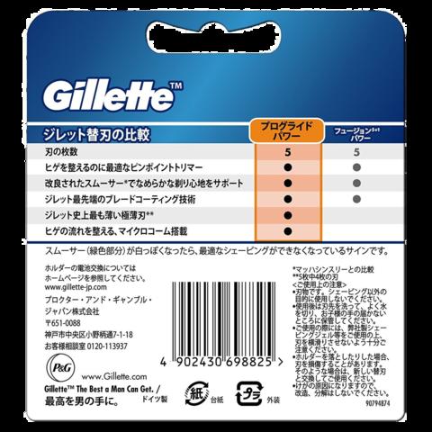 Сменные лезвия Gillette Fusion ProGlide Power 8 шт из Японии