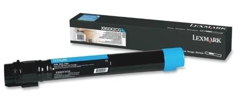 Картридж Lexmark X950X2CG голубой