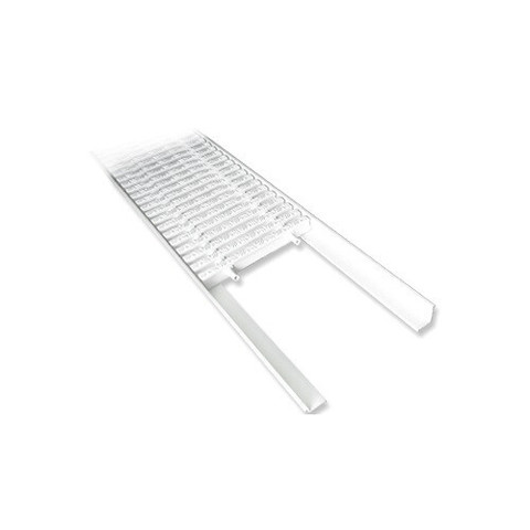 L профиль AquaViva PP для переливной решетки 2м х 25 мм / 22738