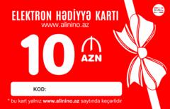 Elektron hədiyyə kartı 10 AZN
