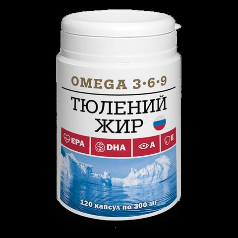 Тюлений жир (120 капсул по 300 мг) (Компас Здоровья)