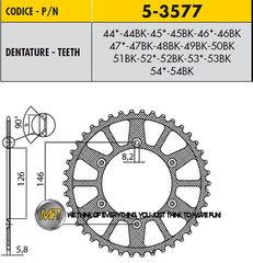 Звезда задняя ведомая Sunstar Rear Sproket 5-3577-50 для мотоцикла Husaberg Husqvarna KTM