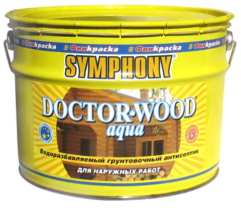 SYMPHONY DOCTOR-WOOD Aqua – водоразбавляемый грунтовочный антисептик с добавлением льняного масла