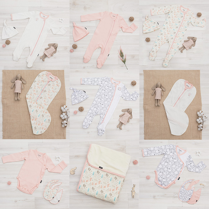 Коллекция «Soft pink», сет из 17 предметов