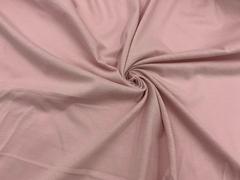 Хлопок кулирка пыльно-розовый 15*15 см
