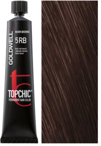 Goldwell Topchic 5RB темно-красный бук TC 60ml