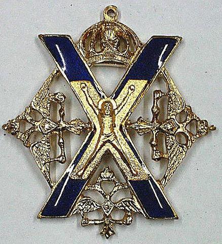 Знак Преображенского полка