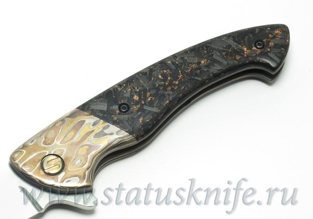 Нож Семерка Зеркало Игорь Гичкин - фотография