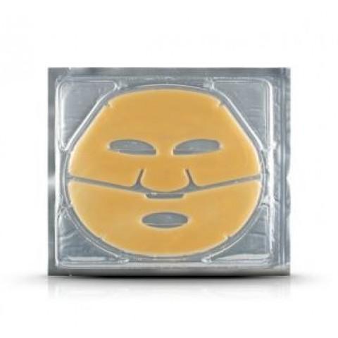 Anskin Natural Gold Hydro Essence Gel Mask гидрогелевая маска с коллоидным золотом и золотой пудрой