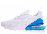 Кроссовки Женские Nike Air Max 270 White Blue