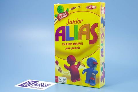 настольная игра Элиас, или Скажи Иначе для малышей компактная версия