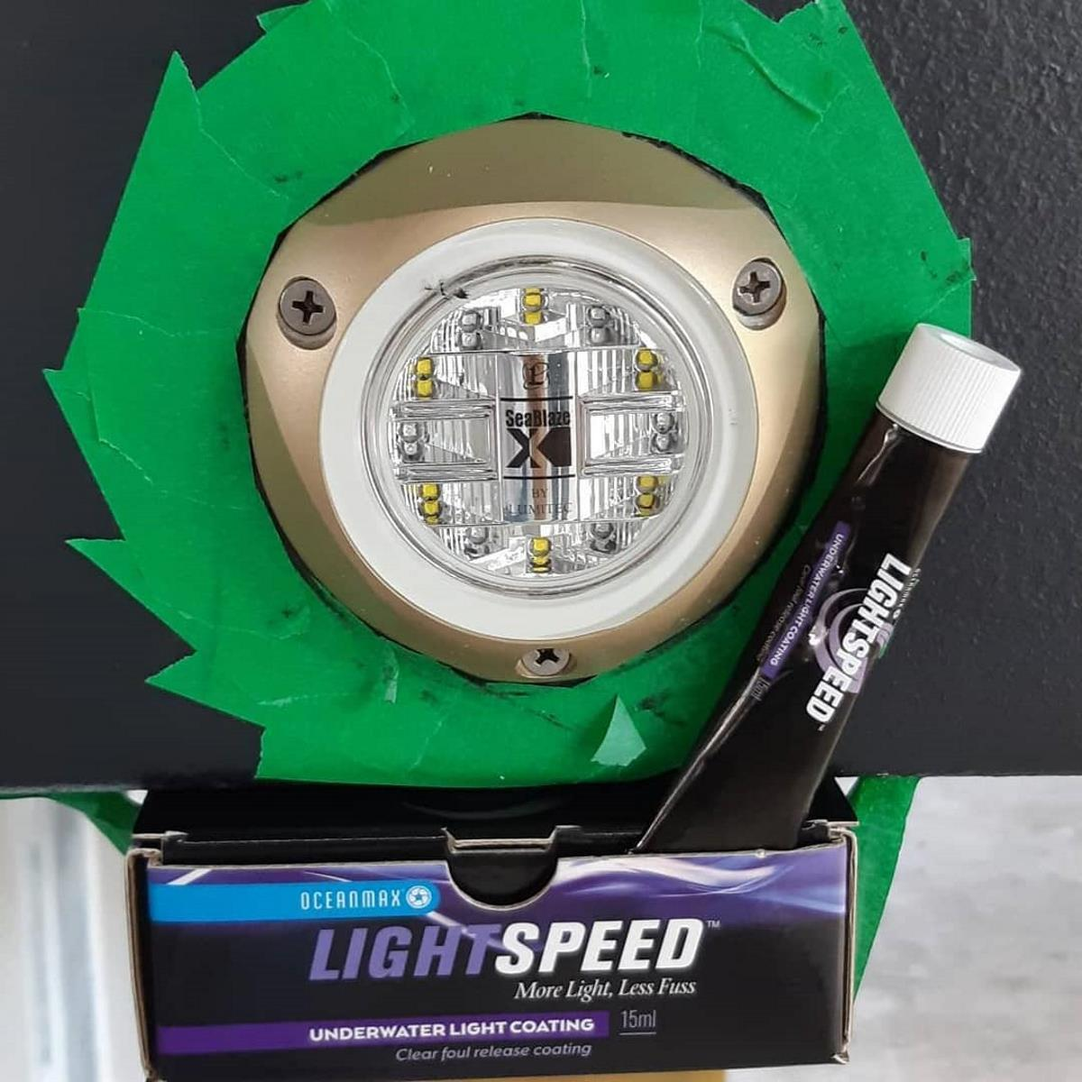 Lightspeed: Protective coating kit for underwater lighting