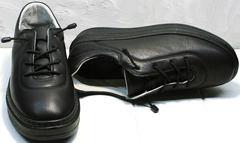 Модные кроссовки женские черные Rozen M-520 All Black.