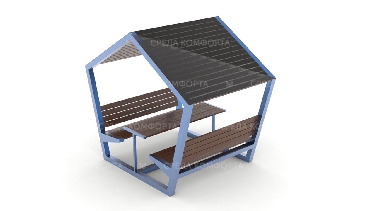 Скамейка с навесом SCAM0114