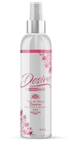 Очищающий спрей для тела и игрушек Desire Toy Body Cleaner - 118 мл.