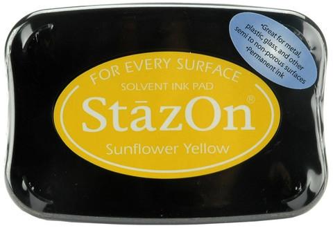 Архивные чернила StazOn  Sunflower yellow