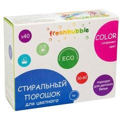 Levrana, Порошок для стирки цветного белья freshbubble, 1000гр