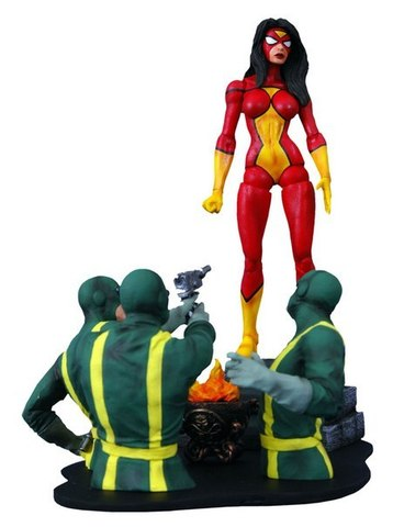 Diamond Select Toys Marvel Select: Spider-Woman Action Figure