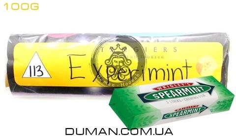 Табак Tangiers Experimint T113 (Танжирс Экспериминт - Мятная Жвачка) |Noir 100г
