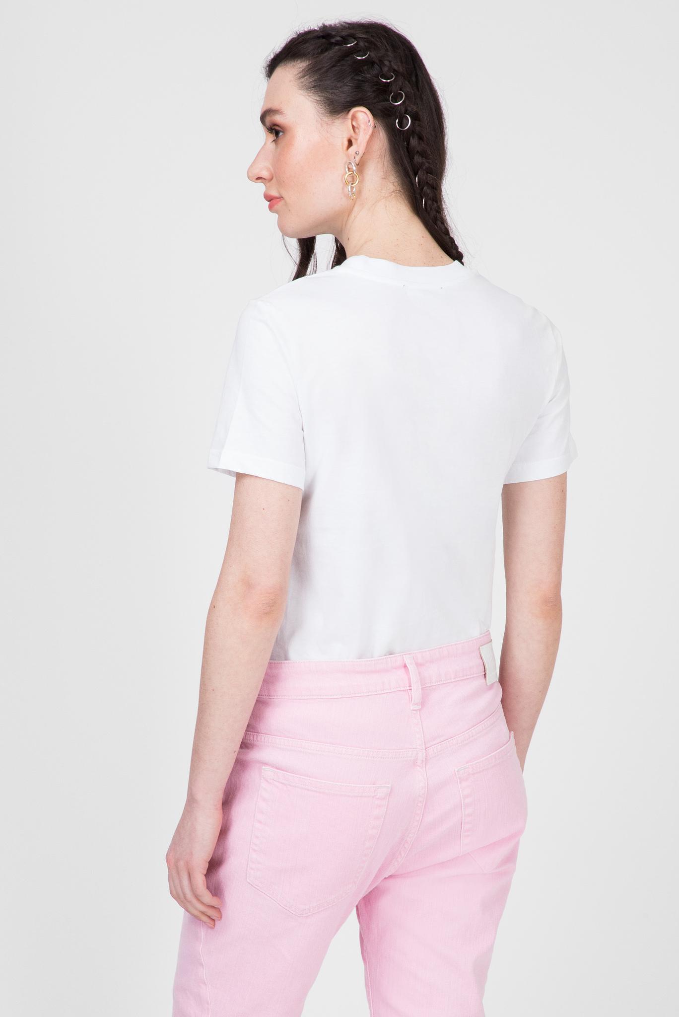Женская белая футболка T-SILY-S2 Diesel