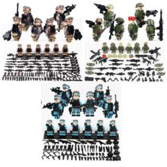 Минифигурки Военных Китайская Армия серия 413