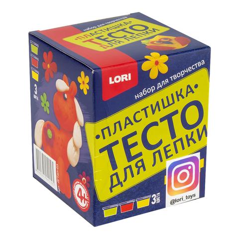 Тесто для лепки (3 цвета по 70 г.), Д/Тдл-03